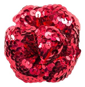 Chanel Chanel Sequin Camellia Brooch