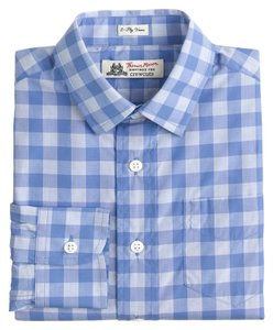 J.Crew Boys Thomas Mason for Crewcuts, Ludlow Shirt size 7