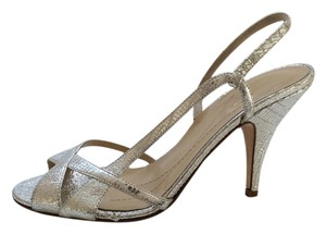 Kate Spade Silver Metallic Sandals