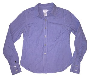 Calvin Klein Button Down Shirt Blue