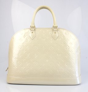 Louis Vuitton Satchel in Marshmallow