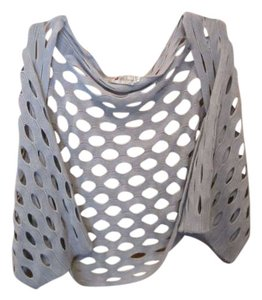 5th Culture Sweater Shrug Poncho Knit Open Weave Layer Nwot Cardigan