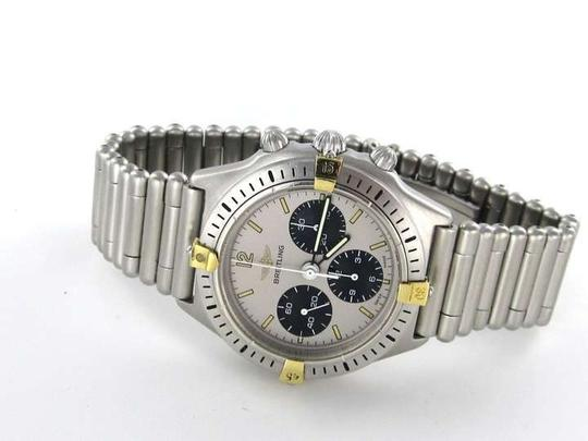 Breitling BREITLING CALLISTO BULLET BAND 80520 D WATCH CRHONO STAINLESS STEEL GOLD RARE