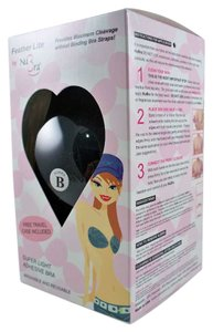 NuBra NuBra Featherlite Super Light Adhesive Feather-Lite Strapless Bra Color Black B Cup