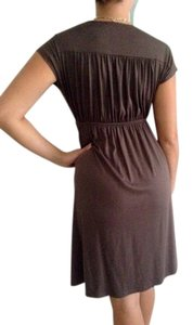 Soprano short dress Olive Green on Tradesy