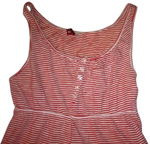 Divided by H&M Top Red/white Striped