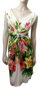 Blumarine short dress Floral on Tradesy