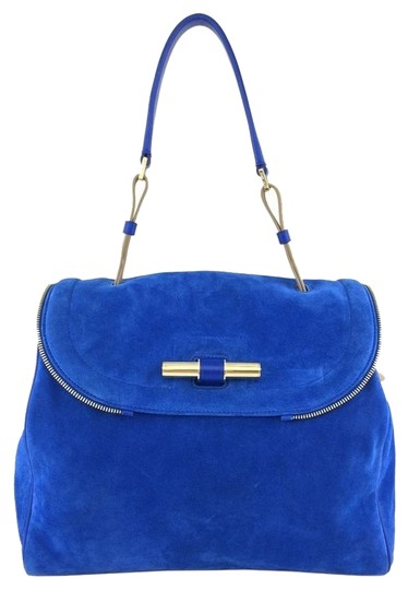 Preload https://item2.tradesy.com/images/jimmy-choo-gold-hardware-logo-leather-satchel-blue-3653941-0-0.jpg?width=440&height=440