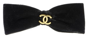 Chanel Chanel Velvet Hair Bow