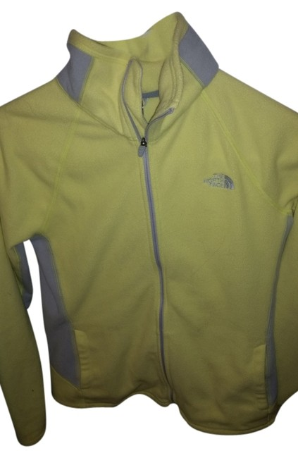 Item - Yellow /Gray Fleece Activewear Outerwear Size 8 (M, 29, 30)