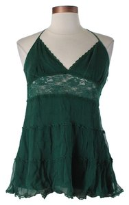 bebe GREEN Halter Top