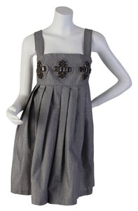 Karta short dress silver on Tradesy