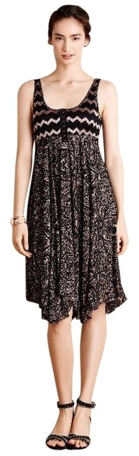 Anthropologie Rose Lace Dress