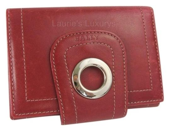 Preload https://item2.tradesy.com/images/bally-burgundy-card-red-leather-wallet-3658486-0-0.jpg?width=440&height=440