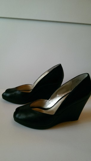 Moda Spana Black Wedges