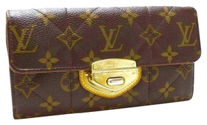 Louis Vuitton Auth Louis Vuitton Portefeuille Sarah Monogram Etoile Bifold Wallet