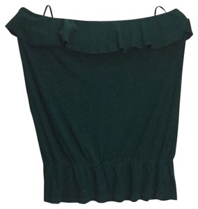 American Eagle Outfitters Emerald Green Halter Top