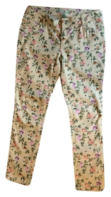 Preload https://item1.tradesy.com/images/denim-and-co-tan-floral-medium-wash-skinny-jeans-size-33-10-m-3659125-0-0.jpg?width=400&height=650