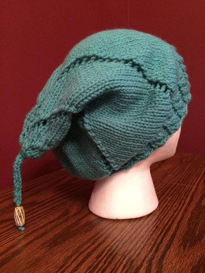 Other Turquoise Twirly Slouch Hat