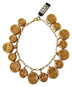 DKNY DKNY Vintage soda pop cap necklace
