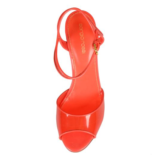Sergio Rossi Red Sandals