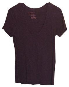 American Eagle Outfitters T Shirt Plum