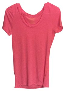 American Eagle Outfitters T Shirt Heather Pink