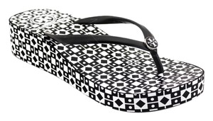 Tory Burch BLACK WHITE Sandals