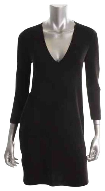 Moda International short dress black Keyhole Sheath Loose Fitted on Tradesy