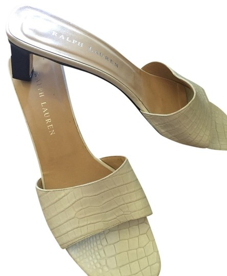 Ralph Lauren Collection White Sandals
