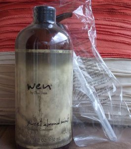 Wen by Chaz Dean WEN Sweet Almond Mint Cleansing Conditioner, Unopened w/ Pump