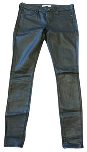 Rich & Skinny Faux Leather Coated Size 26 Skinny Jeans-Coated