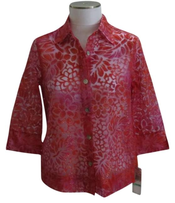 Item - Red New Blouse Size Petite 8 (M)