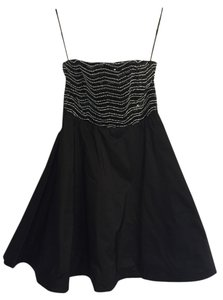 Alice + Olivia Cocktail Sequin Exposed Zipper & Size 6 Dress