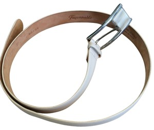 Façonnable Faconnable Belt in Off White