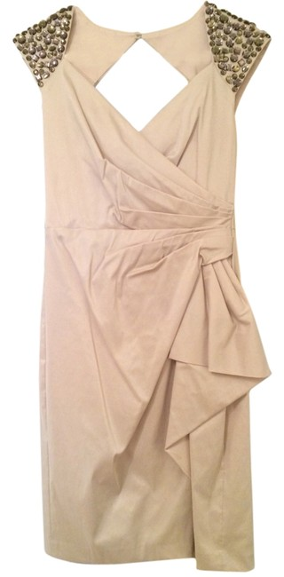 Preload https://item3.tradesy.com/images/maggy-london-dress-champagne-3664987-0-0.jpg?width=400&height=650