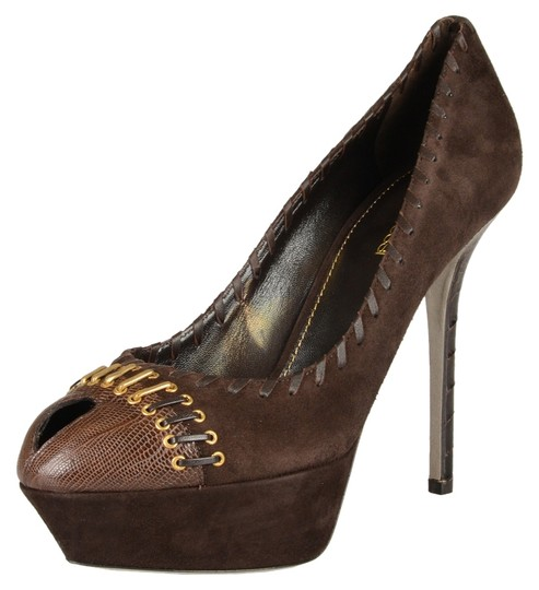 Sergio Rossi Brown Pumps Image 0