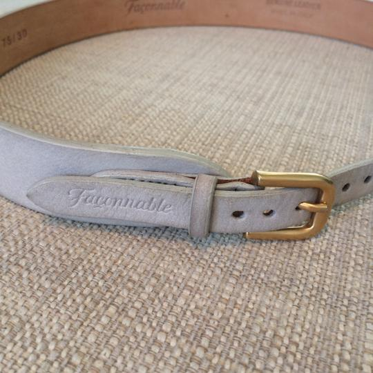 Faonnable Faconnable Belt with Gold Hardware Image 1