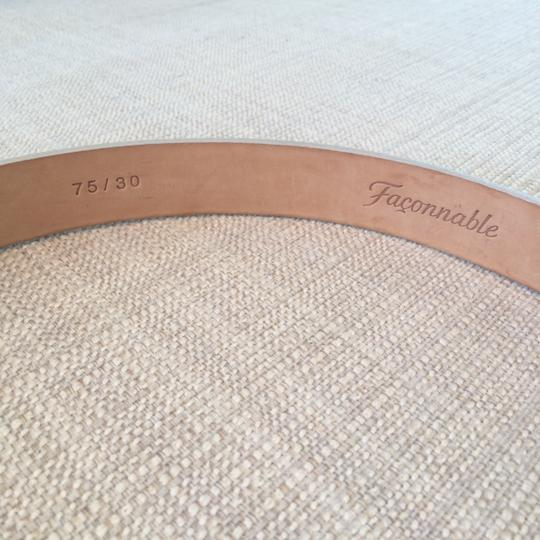 Faonnable Faconnable Belt with Gold Hardware Image 3