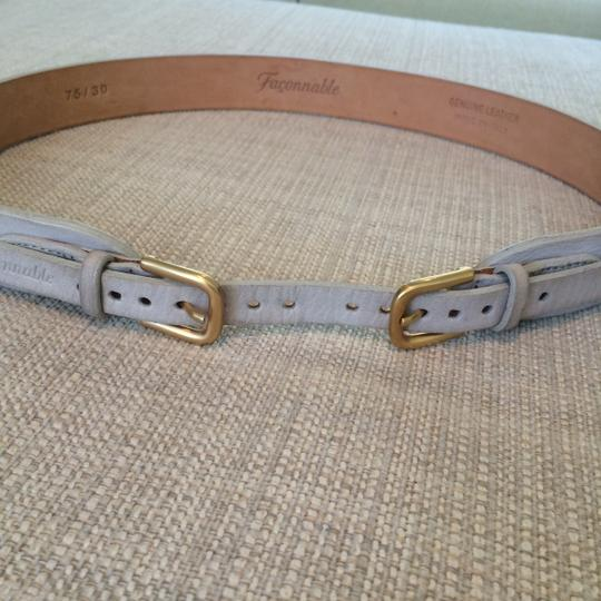 Faonnable Faconnable Belt with Gold Hardware Image 4