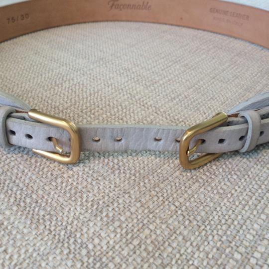 Faonnable Faconnable Belt with Gold Hardware