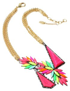Amrita Singh New Amrita Singh Fancy Colors Stella Bib Necklace
