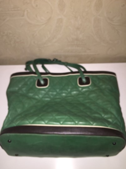 Chanel Tote in Kelly Green