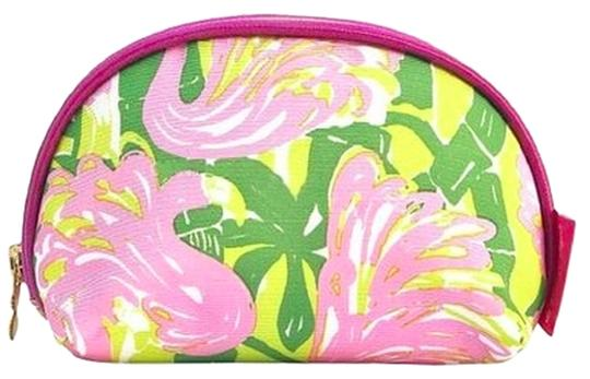 Preload https://item2.tradesy.com/images/lilly-pulitzer-for-target-multicolor-round-top-flamingo-clutch-cosmetic-bag-3666556-0-0.jpg?width=440&height=440