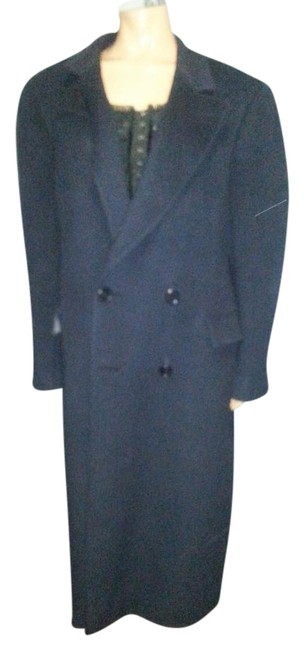 Preload https://item2.tradesy.com/images/dior-navy-blue-christian-trench-coat-size-12-l-3666586-0-2.jpg?width=400&height=650