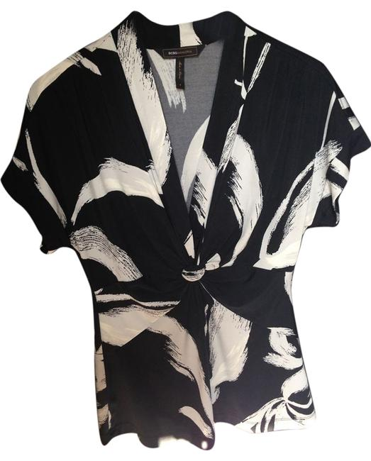 Preload https://item3.tradesy.com/images/bcbgmaxazria-black-and-white-asian-inspired-tunic-size-4-s-3666697-0-0.jpg?width=400&height=650