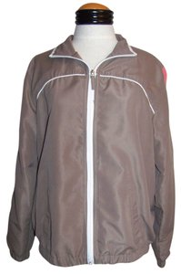 Kim Rogers Windbreaker Brown Jacket