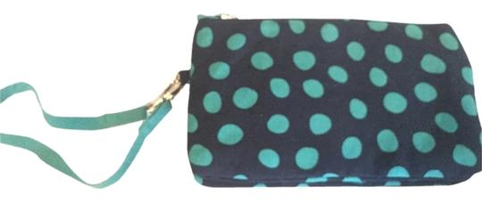 Other Polka Dot Casual Wristlet in Navy Lotsa Dots