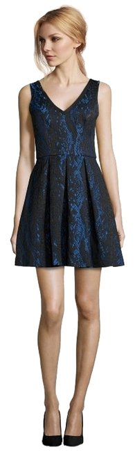 Preload https://item2.tradesy.com/images/abs-by-allen-schwartz-blue-and-black-textured-lace-fit-flare-above-knee-cocktail-dress-size-6-s-3667036-0-2.jpg?width=400&height=650