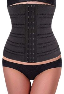 Other Waist Cincher Tummy Waist Trainer Girdle Control Sport Shaper Shaper Cincher Top Black/Beige